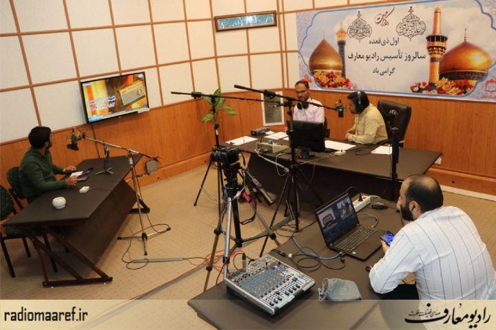 """پشت صحنه برنامه زنده """"صدای فضیلت"""" ویژه سالروز تأسیس رادیو معارف"""