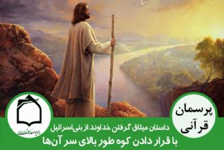میثاق گرفتن خدا از قوم بنی اسرائیل