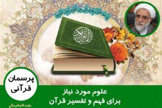 علوم مورد نیاز برای فهم و تفسیر قرآن