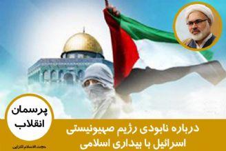 درباره نابودی رژیم صهیونیستی اسرائیل با بیداری اسلامی