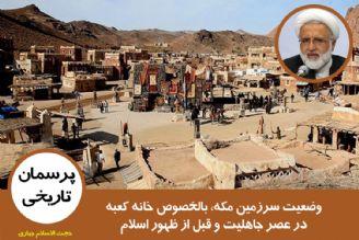وضعیت سرزمین مکه، بالخصوص خانه کعبه در عصر جاهلیت و قبل از ظهور اسلام
