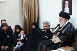 بیانات در دیدار خانواده شهید محسن حججی