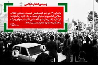 قیام 19 دی برگ زرینی از کتاب انقلاب اسلامی