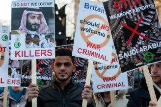 موج مخالفتها با سفر ولیعهد عربستان به انگلیس
