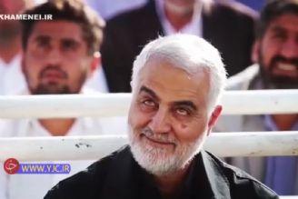 واکنش سردار سلیمانی به شعرخوانی میثم مطیعی در عید فطر