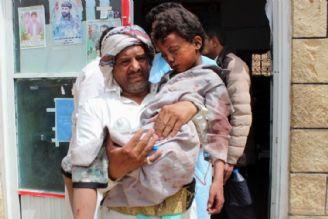 کودک کشیهای سعودیها در یمن