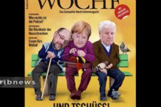 کاهش محبوبیت صدراعظم آلمان