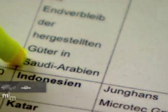 فروش سلاح به سعودیها در آلمان