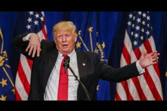 ترامپ باز هم مضحکه شد