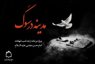 مدینه در سوگ شهادت کریم آل الله