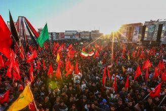 مراسم تشییع پیکر سردار سلیمانی در کرمان