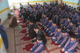 اقامه نماز جماعت در 72 هزار مدرسه
