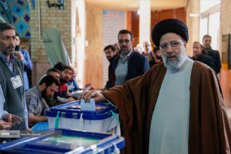 حضور رئیس قوه قضائیه در انتخابات یازدهمین دوره مجلس و میان دورهای خبرگان رهبری