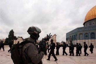 یورش نظامیان صهیونیست به مقدس ترین مکان مسجدالاقصی