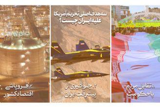 سه هدف اصلی تحریم آمریکا علیه ایران چیست؟