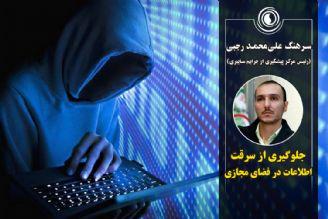 جلوگیری از سرقت اطلاعات مهم در فضای مجازی