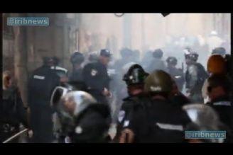 خشم فلسطینیان از تجاوزات صهیونیست ها به مسجدالاقصی